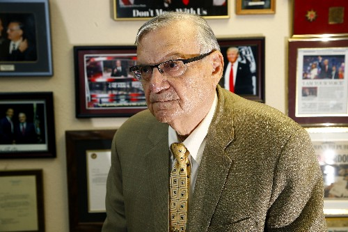 'Tom, this is the sheriff.' Joe Arpaio, 87, runs for old job