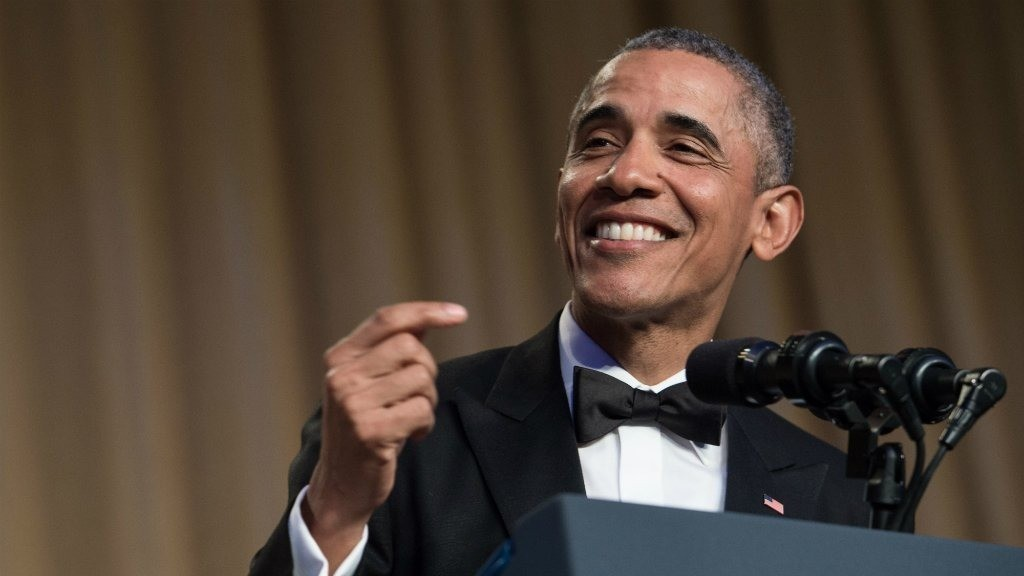 Obama bows out as comedian-in-chief at annual correspondents' dinner