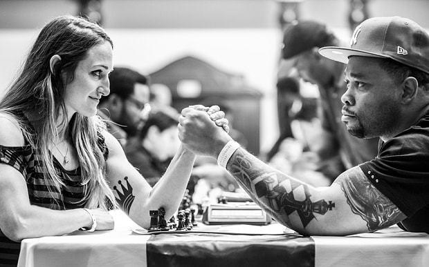Chess gets 'sexy' in million dollar Las Vegas tournament