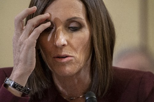 McSally says in Senate hearing she was raped in Air Force