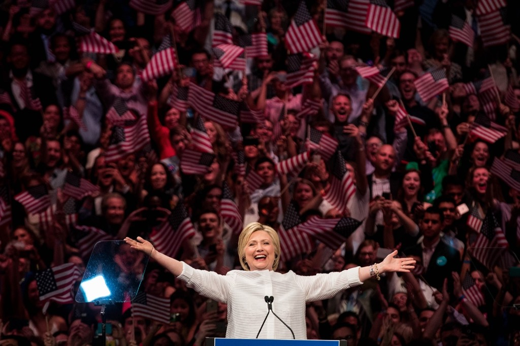 The Clinton Campaign in Pictures
