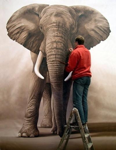 🐆🐾 Amazing Animals And Wildlife Art🐾🐒 - cover
