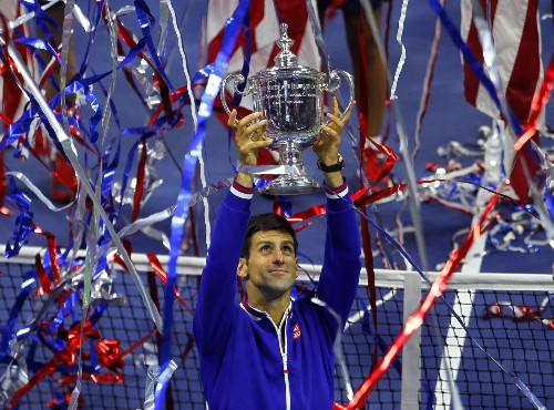 Djokovic Defeats Federer to Win US Open Title: Pictures