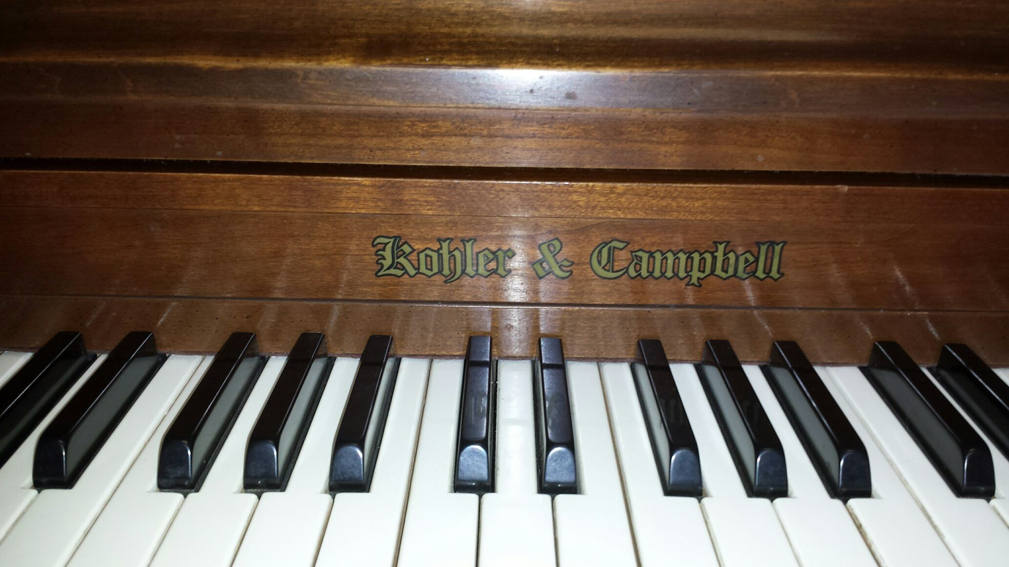 used Kohler and Cambell American made piano
