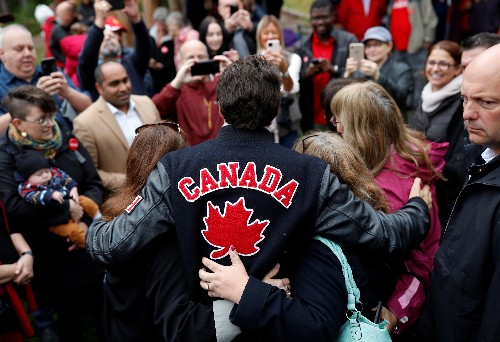 Canadian early voting rises; tight race prompts talk of need for partners