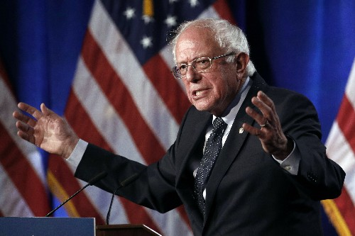 AP Interview: Sanders details plan to 'end corporate greed'