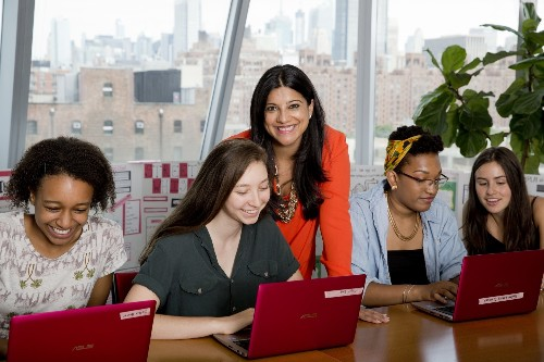 Girls Who Code: How One Woman Is Closing The Gender Gap In Tech