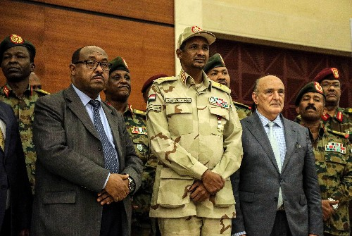 Sudan's military council, opposition coalition reach political accord