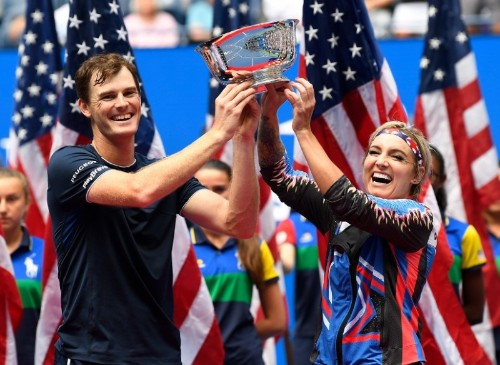 Tennis: Murray, Mattek-Sands retain U.S. Open mixed doubles crown