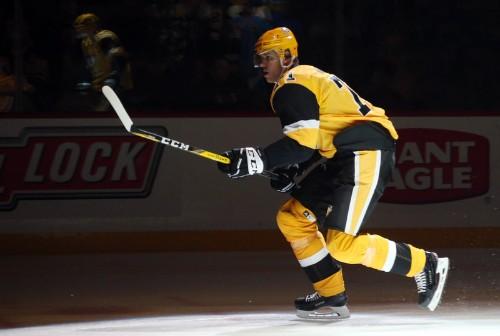 Penguins knock off Bruins on Guentzel's tiebreaker