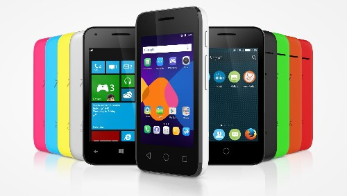 Alcatel's new Pixi smartphone can run Windows, Android, or Firefox OS