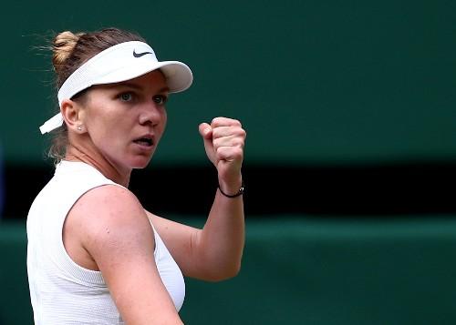 Halep rolls over Svitolina to reach first Wimbledon final