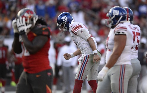 The Latest: New starting QBs showing potential