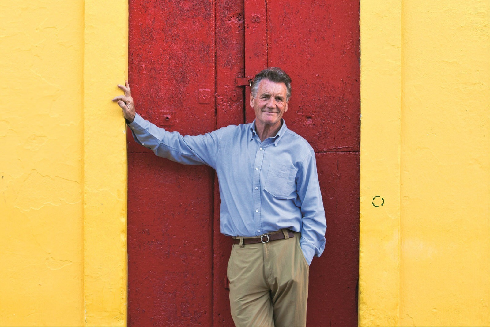 Meet a traveller: Michael Palin, national treasure on loan to the world