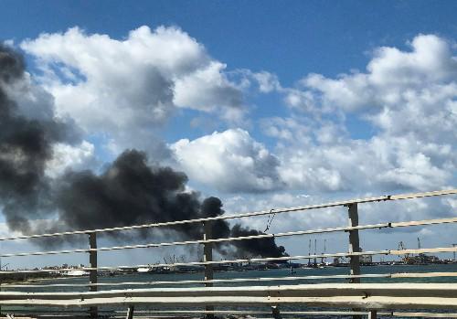 Tripoli government suspends Libya talks after Haftar attacks Tripoli port