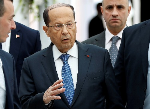 Lebanon's Aoun vows to tend to economic, financial reforms