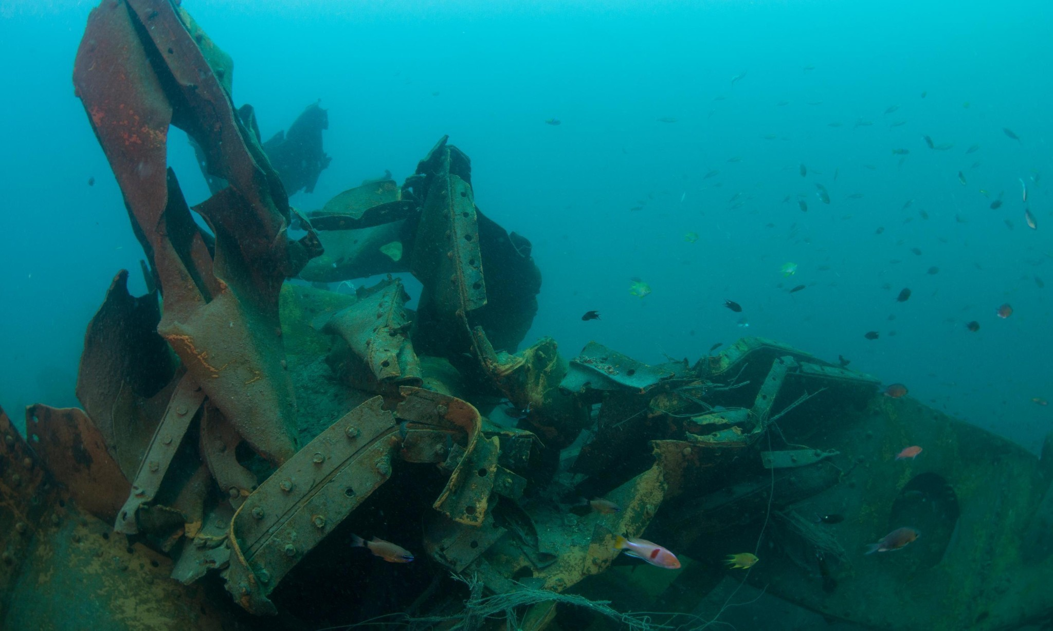 Images reveal three more Japanese WWII shipwrecks torn apart for scrap