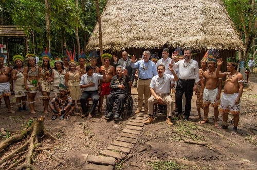 Amazon countries sign forest pact, promising to coordinate disaster response
