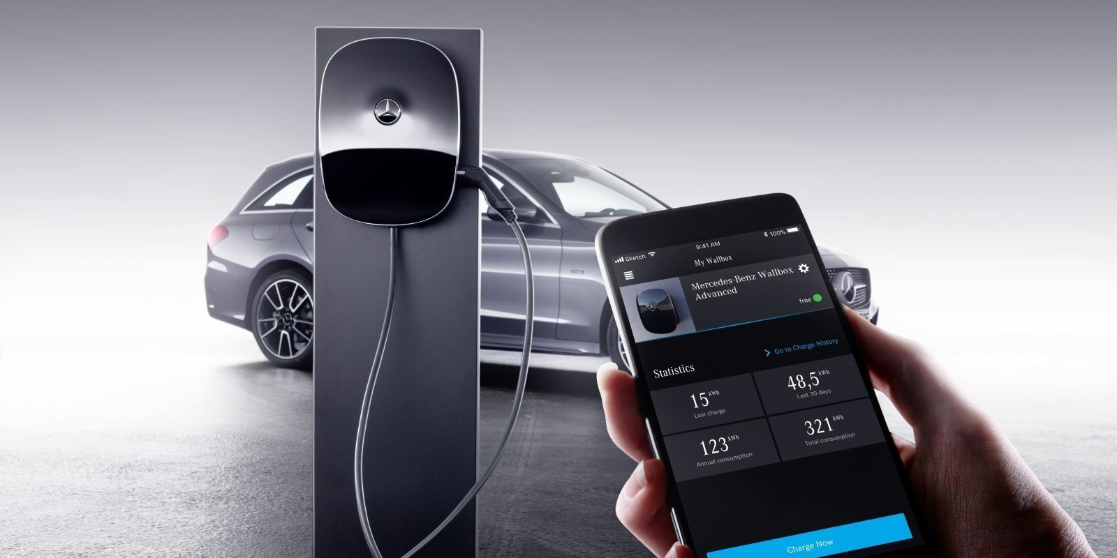 Mercedes-Benz launches new home charging station ahead of new electric car