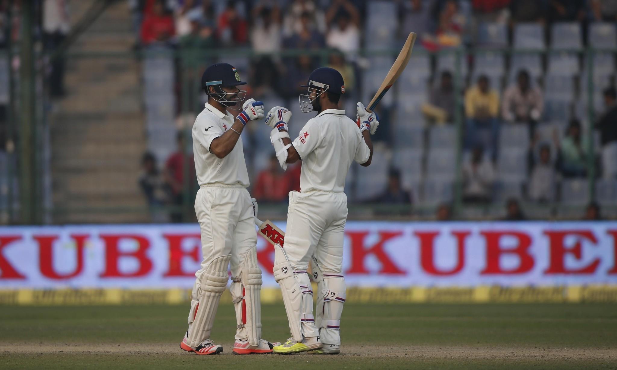 Virat Kohli puts India in control against South Africa after nervous start