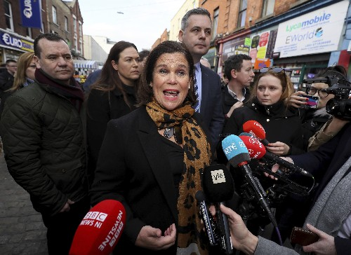 Ireland's two-party system shaken by Sinn Fein surge