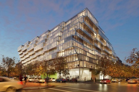 Luxury condo building to rise in D.C.'s West End