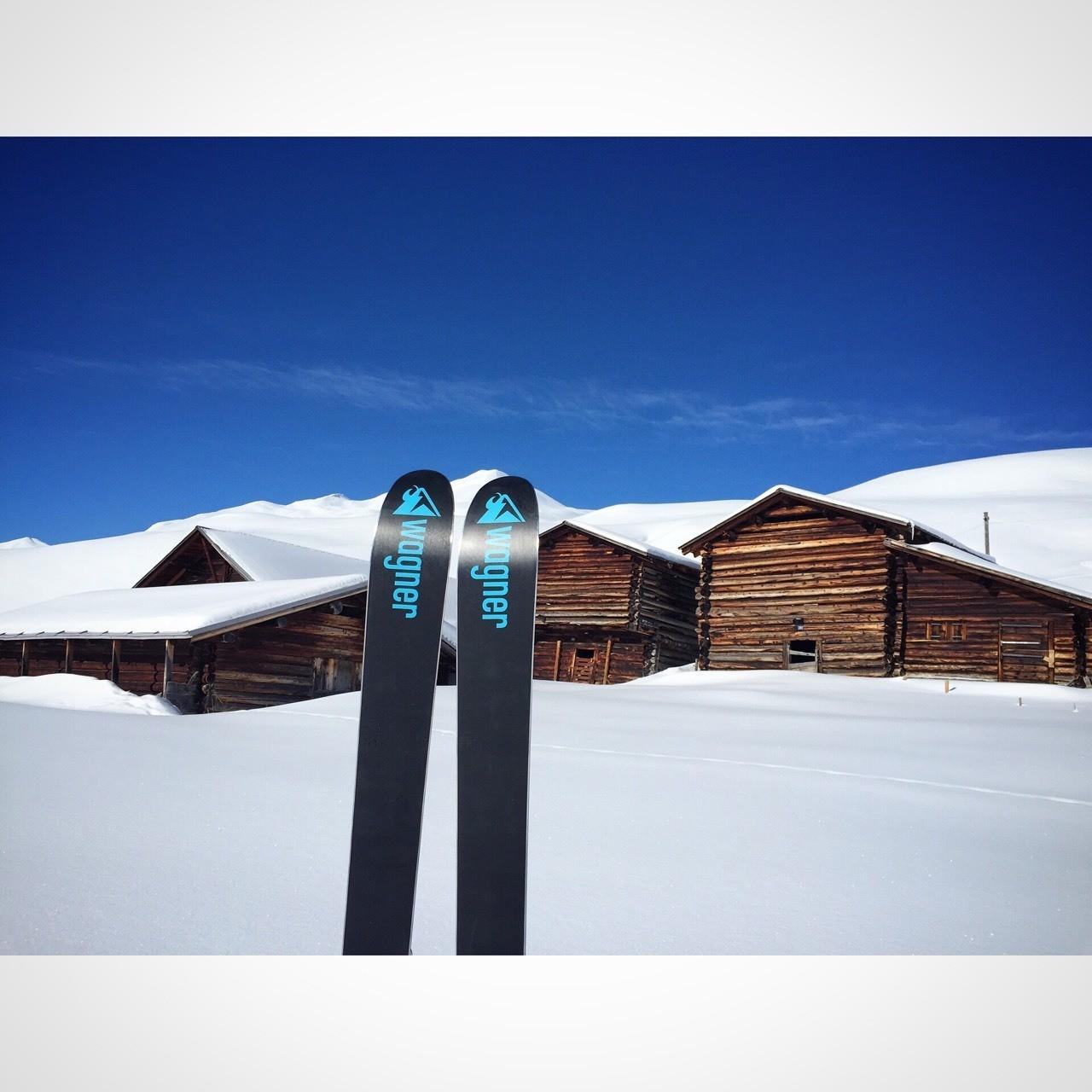 Love Wagner Custom Skis
