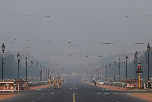 Tens of thousands to run in New Delhi, one of the world's most heavily polluted cities