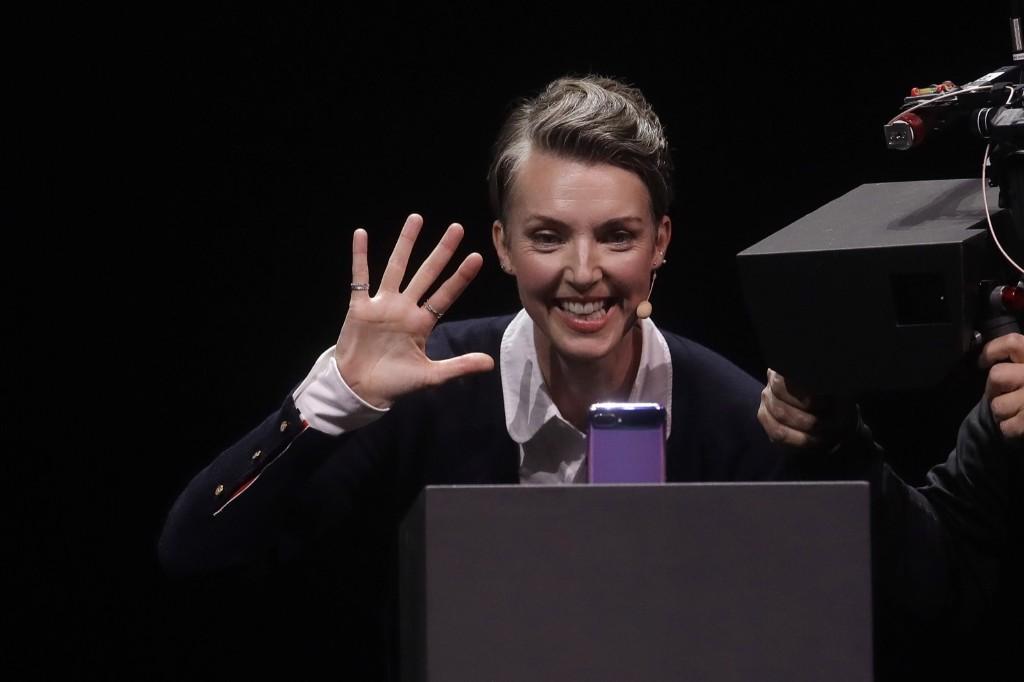 Samsung Unveils New Galaxy Z Flip Phone: Pictures