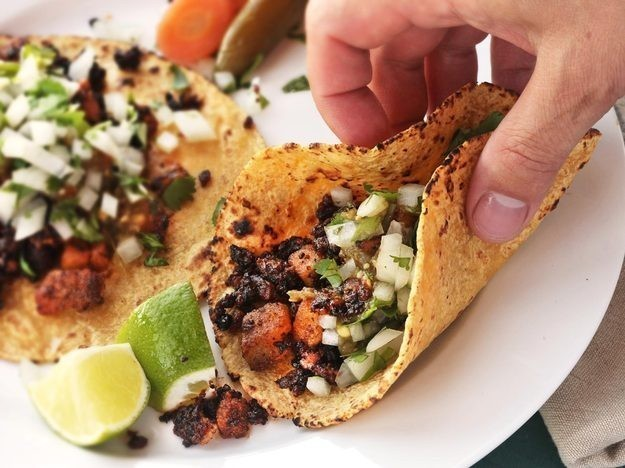 Crispy Potato and Chorizo Tacos Recipe