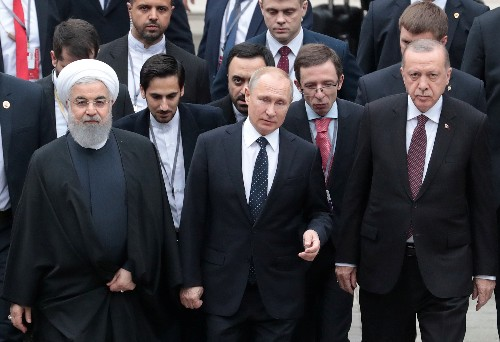 Leaders of Turkey, Russia, Iran set to tackle Syria turmoil