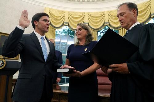 Senate confirms former lobbyist Esper as secretary of defense
