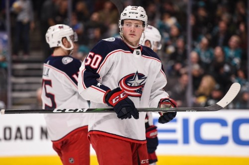 Blue Jackets LW Robinson signs two-year extension