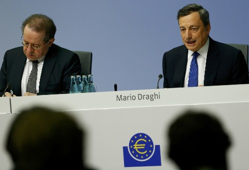 ECB unexpectedly cuts asset buys to 60 billion euros per month from April