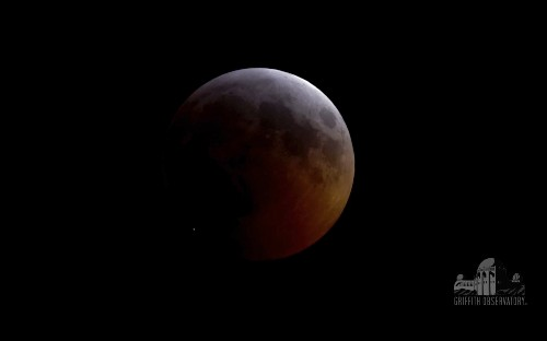 Space rock left big crater on moon during full lunar eclipse