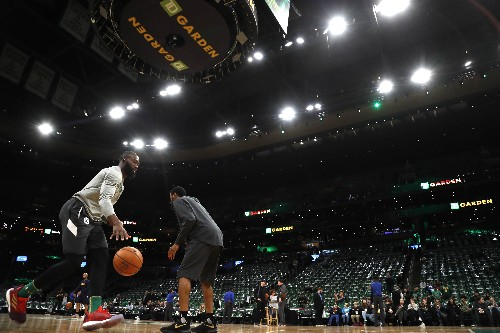 Celtics hammer Nuggets, stay perfect at home