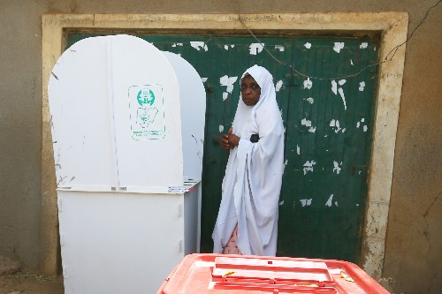 Nigeria counting votes in presidential election dogged by delays