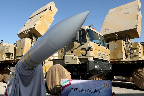 Iran displays domestically built mobile missile defense system