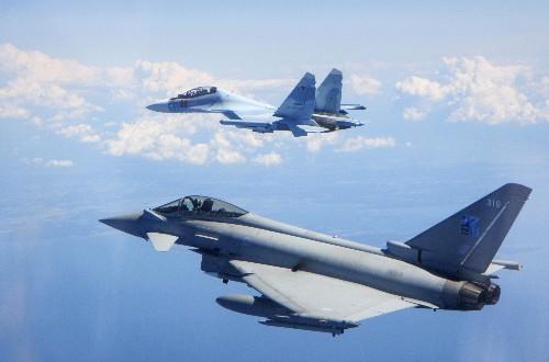 British air force jets in Estonia intercept Russian jets