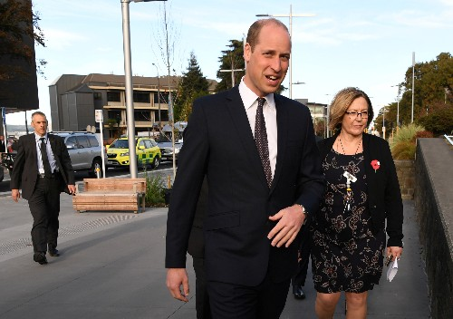 UK's Prince William meets survivors of Christchurch mosque shootings