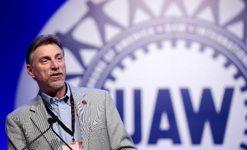 Former UAW vice president charged in U.S. corruption probe