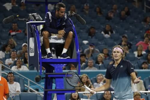 ATP fires chair umpire Steiner