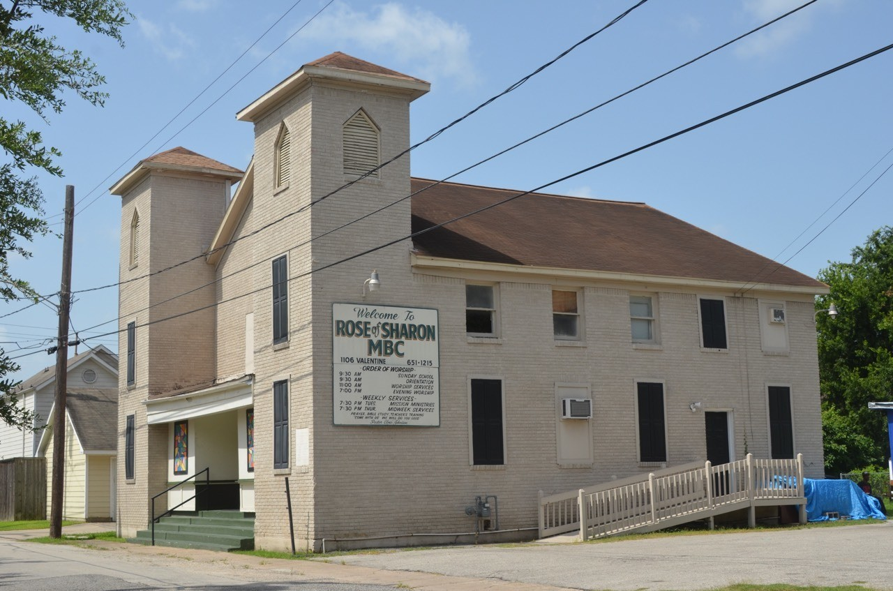 Rose of Sharon Baptist Church Freedmen's Town