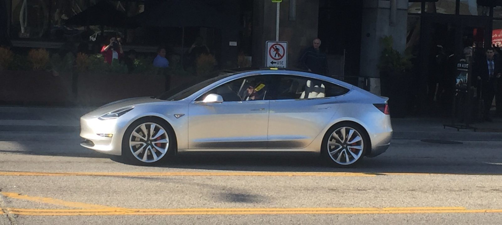 Exclusive: Tesla is testing a Model 3 mule with a 70 kWh battery pack and dual motors (Model 3 70D)