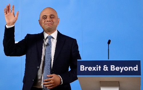 UK PM contender Javid says would back leave in any second EU referendum