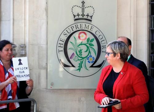 Oberstes britisches Gericht entscheidet über Zwangspause für Unterhaus
