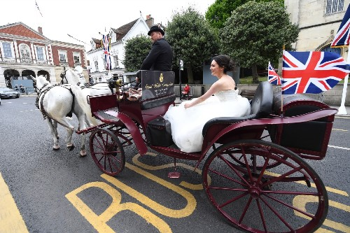 Preparations Underway for the Royal Wedding: Pictures