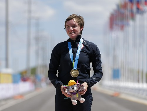 US Olympic cyclist Catlin found dead in her home at age 23
