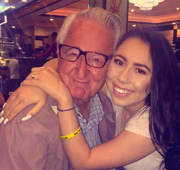 People Are Inspired By This Girl And Her Grandpa Going To College Together