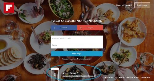Acesse o Flipboard pela Web com um código QR. É fácil e rápido!